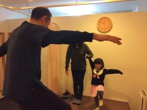 子供の姿勢
